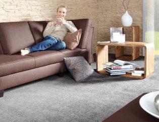 teppichboden - flauschig - wohnkomfort - schalldämpfend